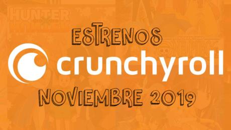 Novedades & Estrenos en Crunchyroll Noviembre 2019: Películas, Series & Documentales