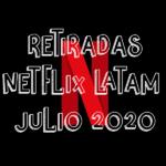 Contenido que Netflix LATAM quitará en Junio 2020